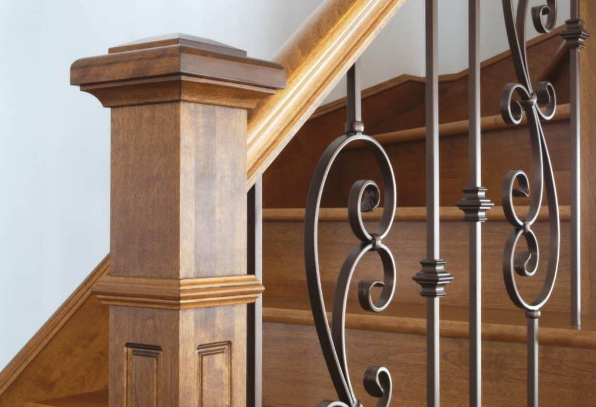 how do you make a newel post sturdy
