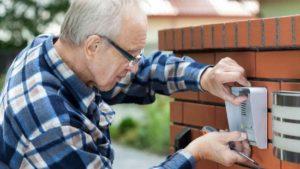 doorbell fixing