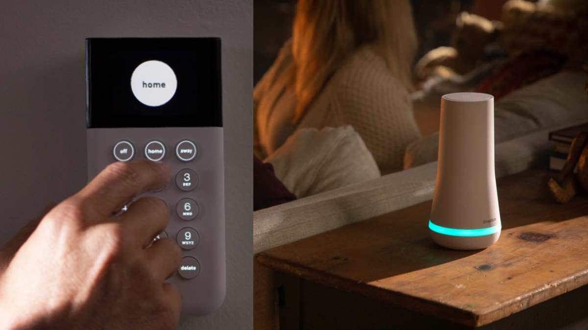 simplisafe with siren