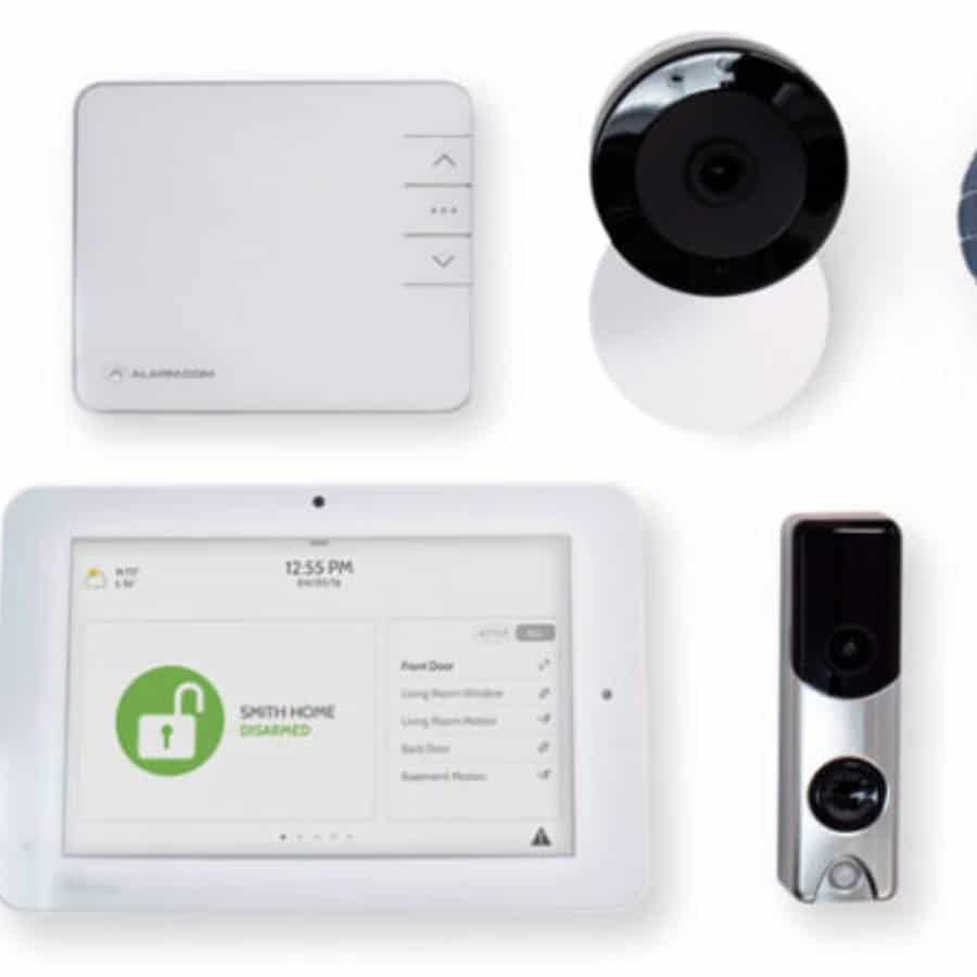 link INteractive home security system
