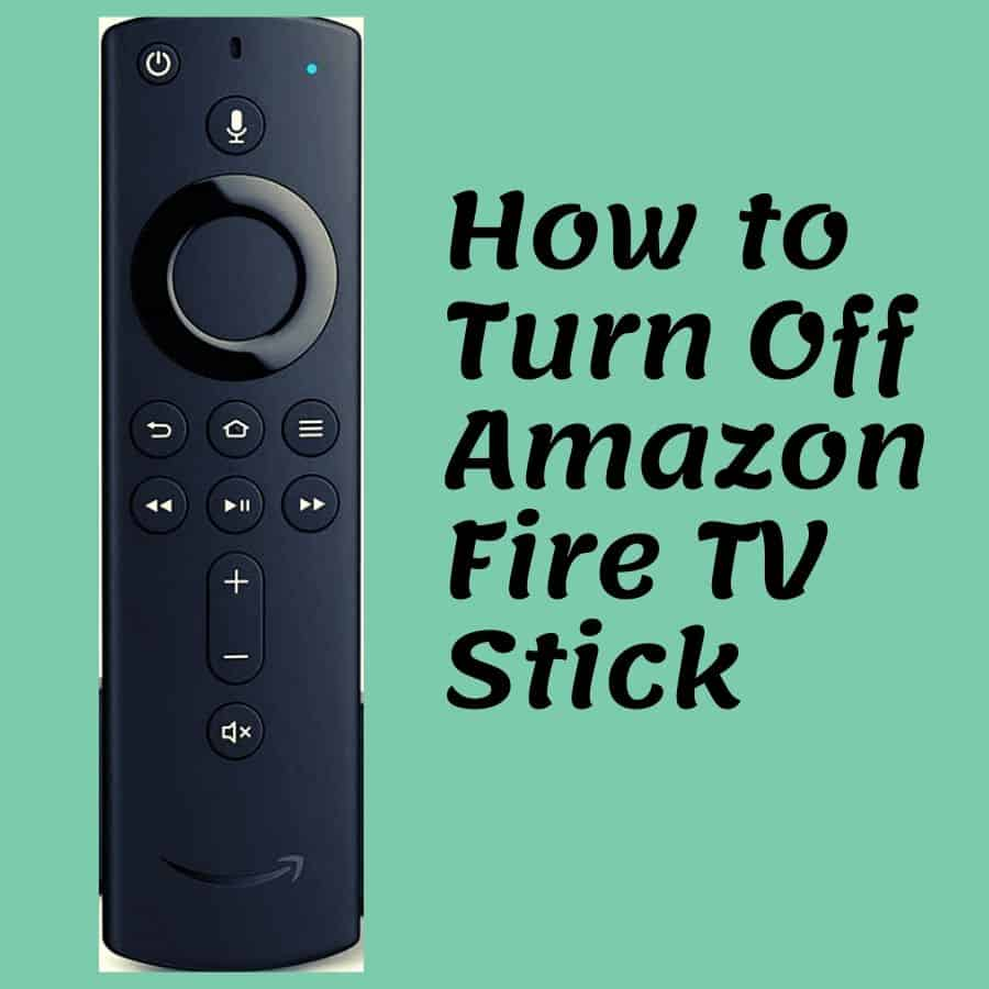 How To Turn Off Amazon Fire Tv Stick Features Of Fire Tv Stick 4k Howtl