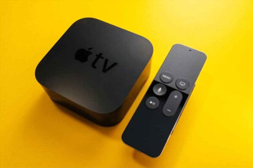 Image of a newly purchased Apple TV