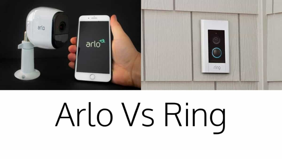 Arlo and Ring in a picture head to head comparison