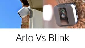 Blink Xt and Arlo Pro 3